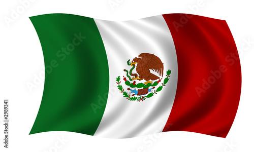 Deurstickers Mexico mexiko fahne mexico flag