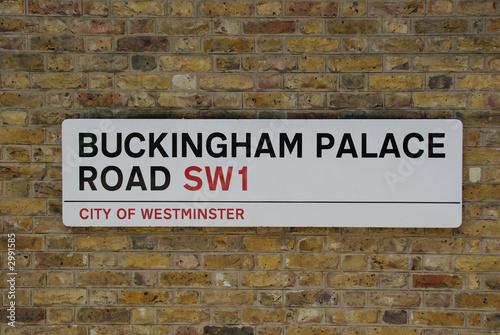 buckingham palace road Wallpaper Mural