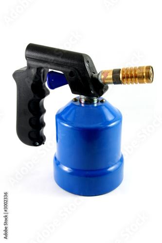 Photo blue blowtorch