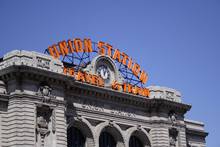 Union Station In Denver, Color...