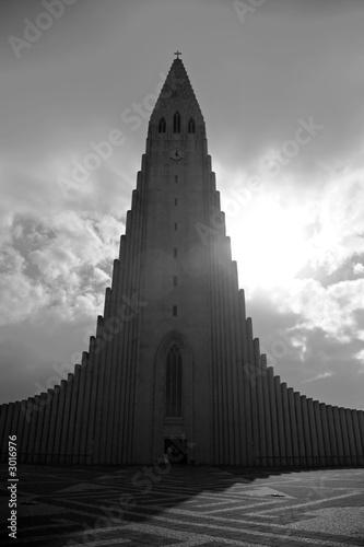 Fototapeta hallgrimskirkja church