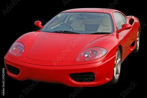 Foto-Doppelrollo - red supercar (von Christopher Nolan)