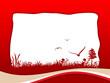 Leinwandbild Motiv background layout