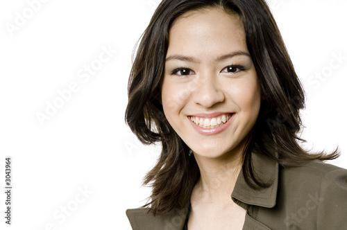 Obraz smiling girl - fototapety do salonu