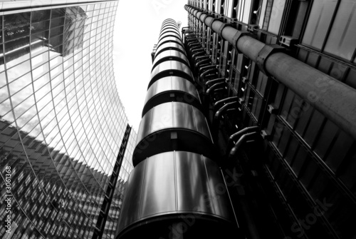 lloyds building Canvas Print