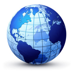 Fototapeta earth globe