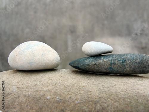 Foto op Plexiglas Stenen in het Zand zen still life