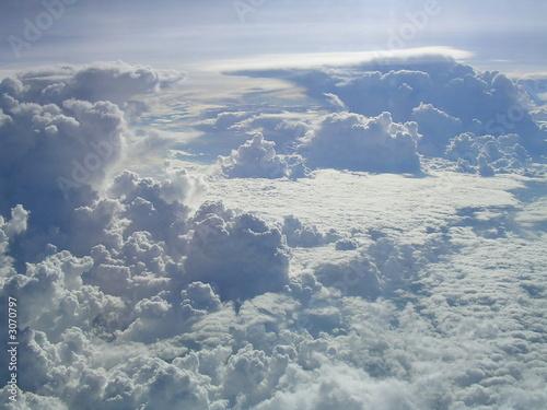 Fotografie, Obraz  nuages dans le ciel