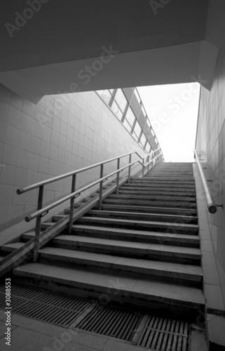 Canvas Prints Stairs pedestrian subway