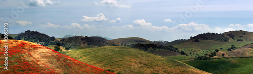 Fotografie, Tablou  banner with heavenly landscape