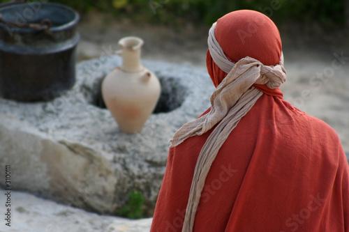 Foto auf Leinwand Mittlerer Osten middle eastern woman