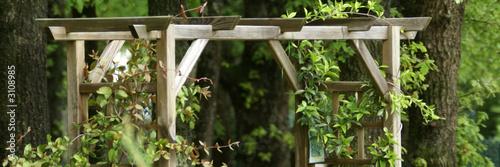 Fotografia  pergolas de jardin