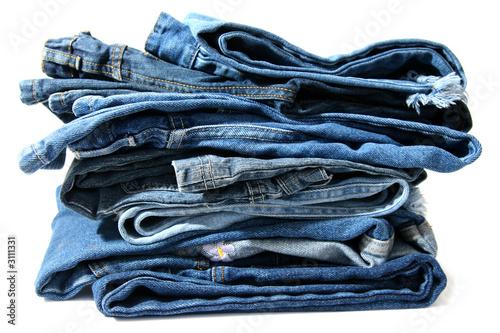 Fototapeta blue jeans