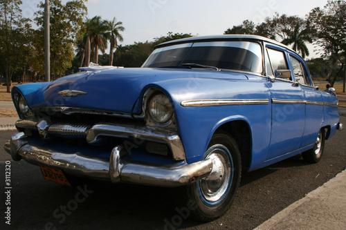 Türaufkleber Autos aus Kuba voiture américaine des années 50 à cuba