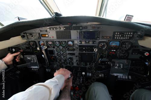 Valokuvatapetti flight deck