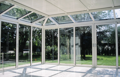 veranda en aluminium Canvas