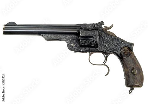 revolver retro-1 Canvas Print