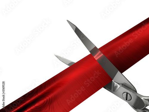 Fotografía  scissor cutting