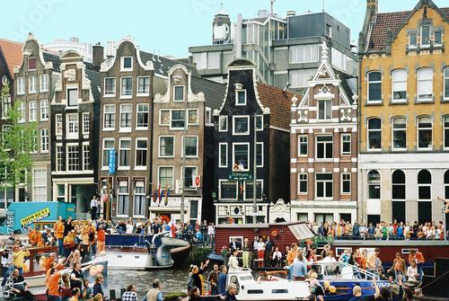 In de dag Amsterdam vue d'amsterdam