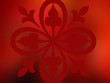 canvas print picture deep red fantasy no.23