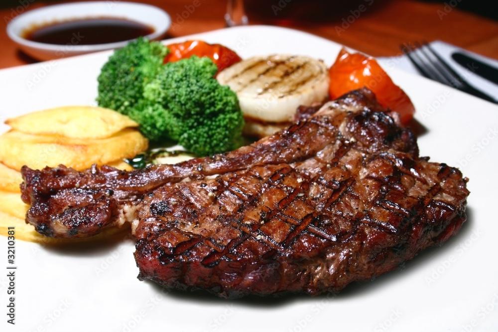 Fototapeta t-bone steak