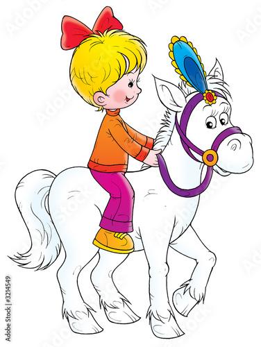 Poster Pony Ride