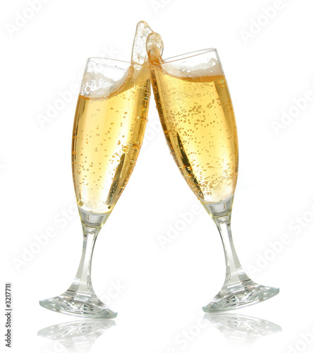 celebration toast with champagne #3217711