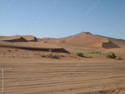 Poster de jardin Desert de sable wüstenlandschaft