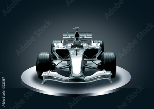 Recess Fitting F1 formula one, speed concept