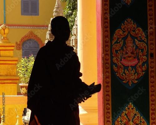 Photo monaco buddista