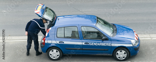 Fotografía  gendarmerie