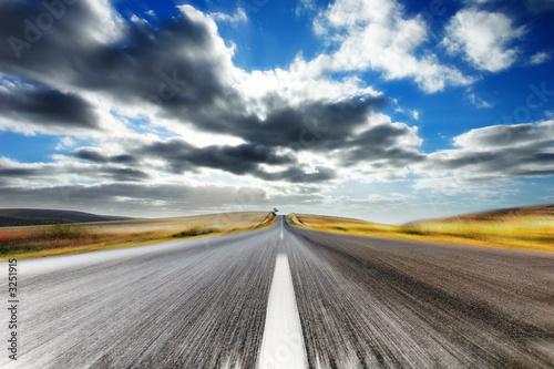 Leinwanddruck Bild - Kwest : speeding