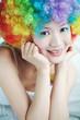colorful girl