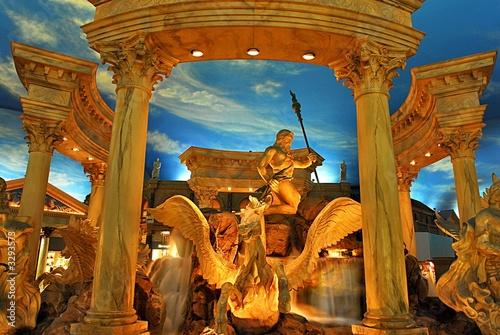 Autocollant pour porte Fontaine caesars palace 1
