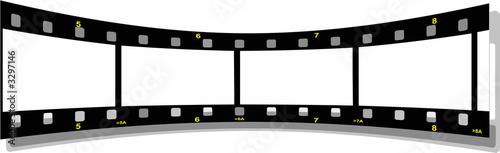 film strip perspective  back Canvas-taulu