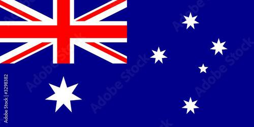 drapeau australie Wallpaper Mural