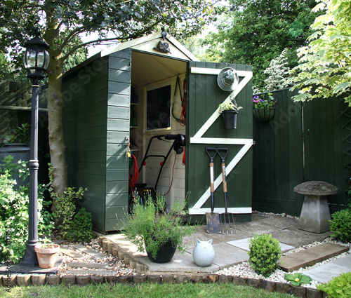 Fotografia garden shed