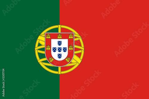 Fototapeta drapeau portugal obraz