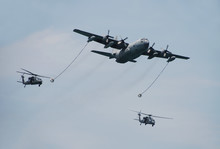 Aerial Refueling Of Helicopters
