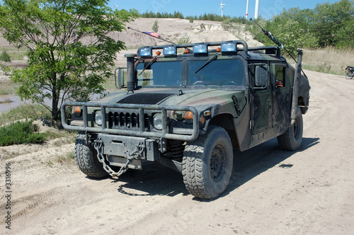 Foto us militär jeep