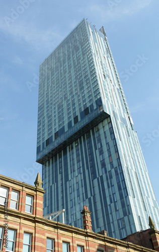 Photo beetham tower, manchester
