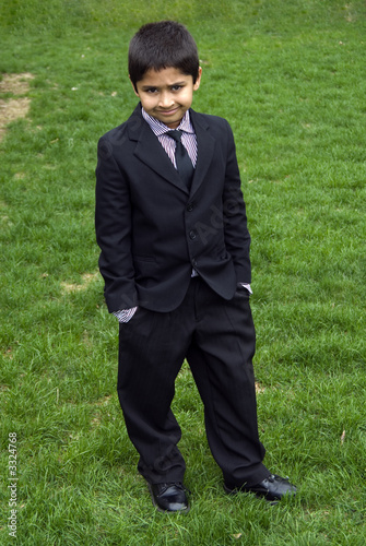 Cute Kid Formally Dressed Buy This Stock Photo And Explore Similar