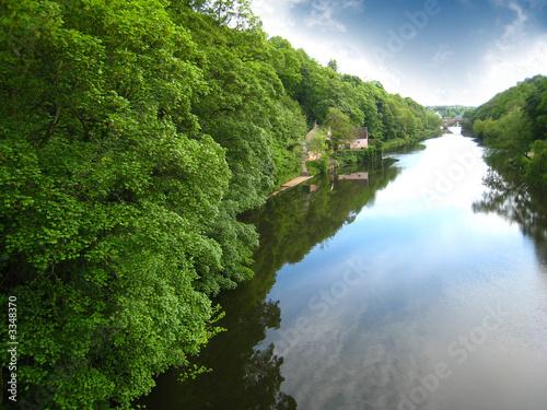 Foto op Aluminium Rivier countryside