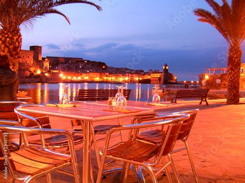 Staande foto Marokko crépuscule en terrasse