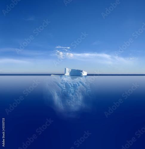 Fotografie, Obraz  iceberg