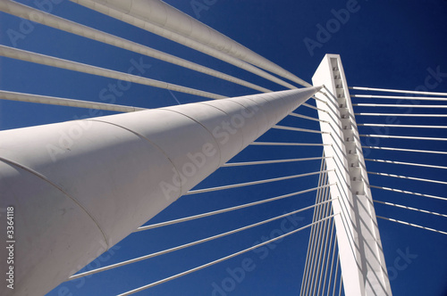 Canvas Prints Bridge modern bridge