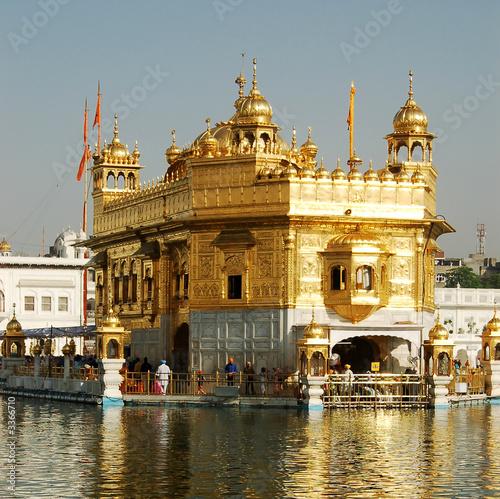 Staande foto India golden temple