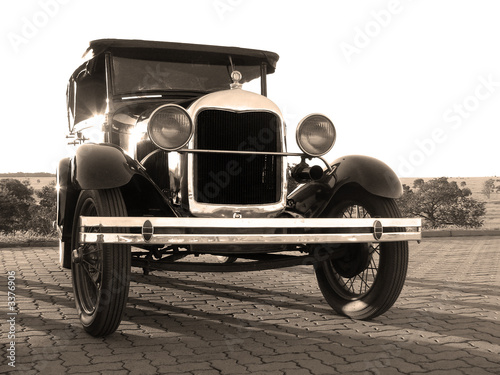 vintage car Tablou Canvas