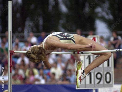 Fototapeta high jumping obraz