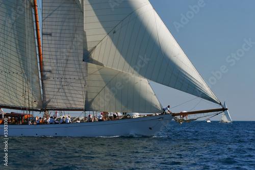 bateau à voile en mer © Christophe Baudot
